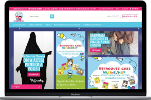 WafineShop Portfolio Conception E-commerce