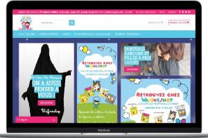 WafineShop Portfolio Conception E-commerce
