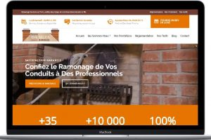 RamonageDaSilva - Ramonage, Chauffage et Fumisterie Sur Paris Portfolio Conception E-commerce