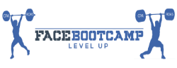 Logo FaceBootCamp Level Up - Conception E-commerce