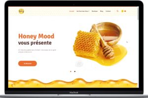 Présentation Honey Mood - Conception E-commerce