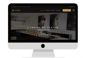 Présentation L'empire du Parfum - Conception E-commerce