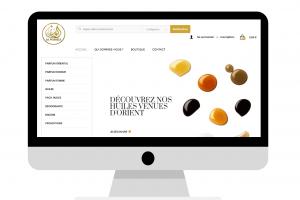 Présentation Parfumerie Al Wassila - Conception E-commerce